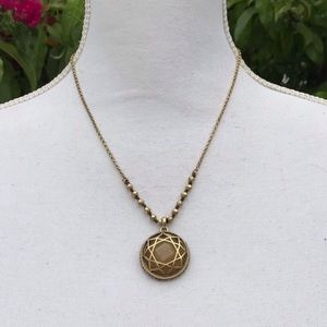 Lucky brand pendant gold necklace jewelry